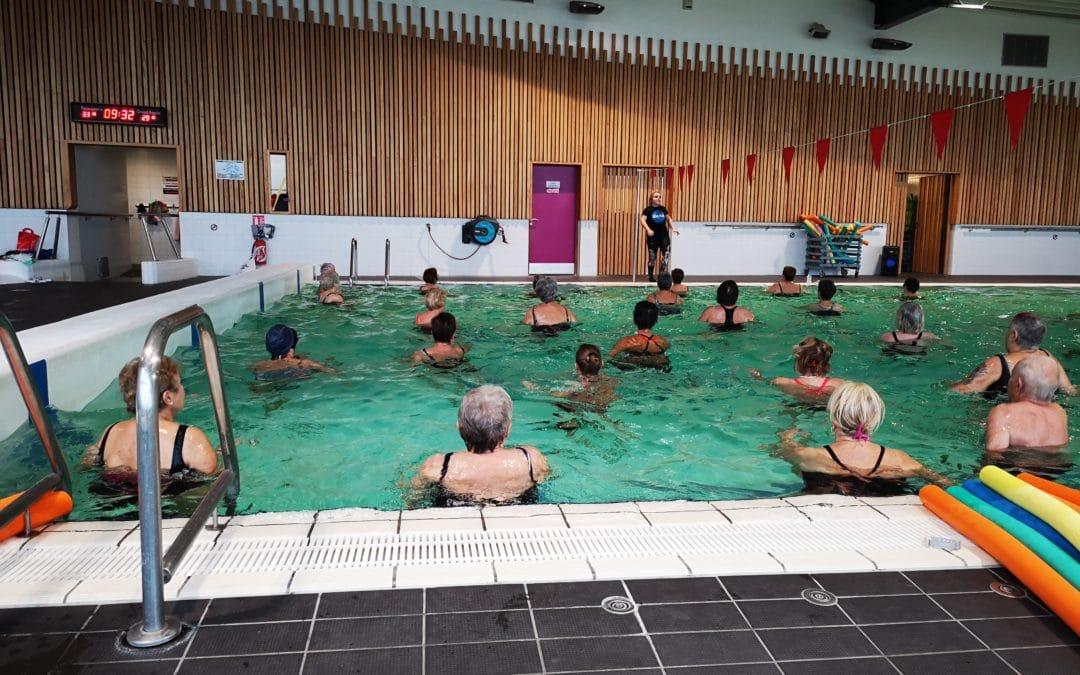 Cours d'aquagym et cours d'aquabike